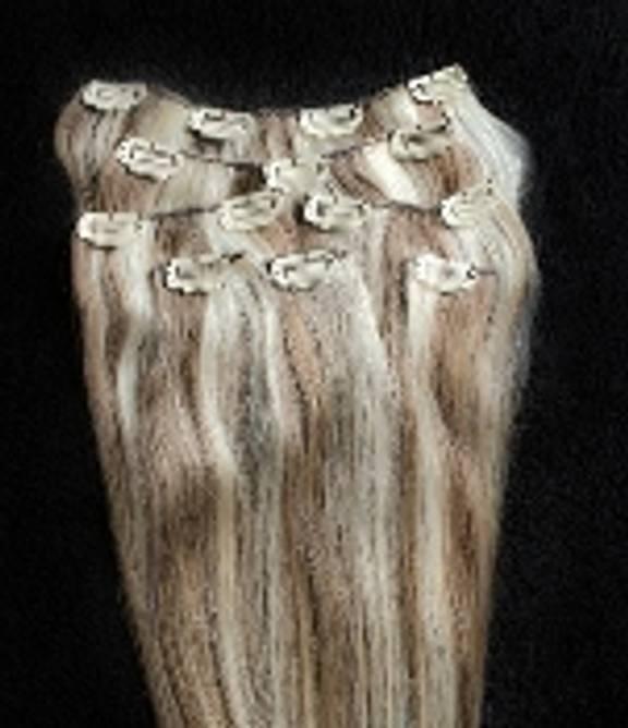 Bilde av #8/613 Brown Blonde Mix 45cm